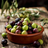 arbequina olives from Catalonia, Spain