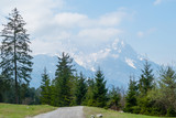 Frühling Wettersteingebirge Alpen