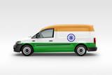India Flag on Side of Van