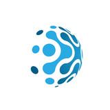 Logo Blue Forward Molecule Bold