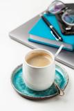 Home office coffee break