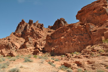 Le parc d'État de Valley of Fire